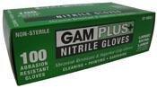 Gam Paint Brushes SP98851 Nitrile Gloves, Large/Extra-Large, 100-Count