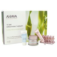 AHAVA Time Line Essential Dead Sea Treatment 15 Day Smoothing Therapy Collection 1 set