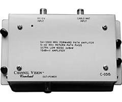 CHANNEL VISION C-0315 15 Db Rf Amplifier