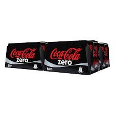 Coca-Cola Coke Zero Calorie Free. 24 - 12 fl oz cans 288 Fl OUNCES