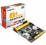 Biostar H81MLV3 MicroATX Desktop PC Motherboard LGA1150 4th Gen Intel Processor