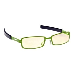 Neon Green Tech Gaming Glasses