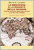 La ricchezza e la povertà delle nazioni (8811693217) by David S. Landes
