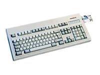 Cherry G80-1501 HAD Tastatur Chipkartenlesegerät PS/ 2 (Tastatur für Krankenversicherungskarte)