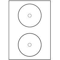 200 cd labels 117 mm as zweckform 7676 100 king size l