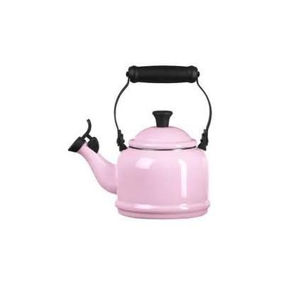 Amazon.com: Le Creuset Pink Tea Kettle Antique Rose: Teakettles
