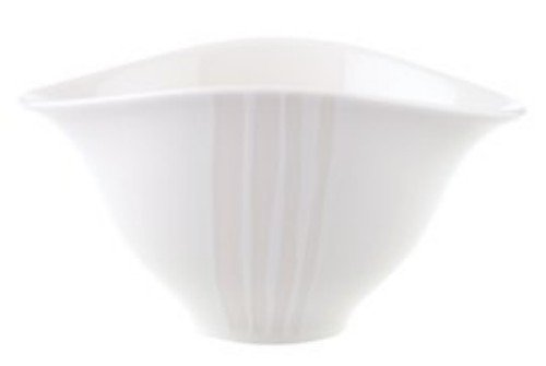 VILLEROY & BOCH DUNE LINES OVAL VEGETABLE 8.25