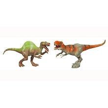 Picture of Hasbro Jurassic Park Dino 2 Pack - Spinosaurus & Tyrannosaurus Figure (B002QM8WG4) (Hasbro Action Figures)