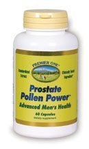 Premier One Prostate Pollen Power -- 60 Capsules (Standardized Pollen Extract compare prices)