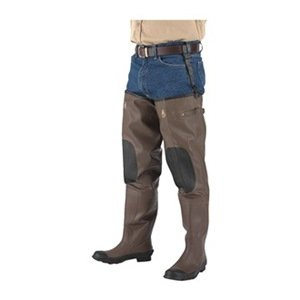 Insulated hip waders mens size 10 pr for Fishing waders amazon
