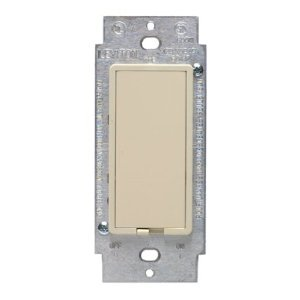 leviton ivory 3 way programmable wall switch 6653 i wall light switches. Black Bedroom Furniture Sets. Home Design Ideas
