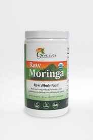 Grenera Nutrients Inc - Certified Organic Raw Moringa, 440 g powder