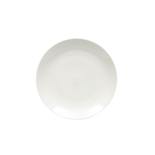 Maxwell and Williams Basics Coupe Entree Plate, White