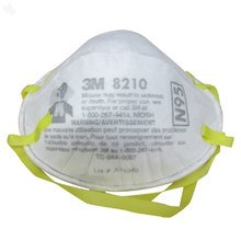 3M ZSALPLDUW2699 N95 8210 Health Care Particulate Flu Protection Respirator and Surgical Mask, Pack of 20