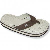 Cool Shoes Deluxe Pi Beige, Marrone Flip Flop Spiaggia Infradito Sandali Ciabatte Spiaggia - Beige, 39/40, Scamosciato