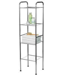 Fantastic Looking 4 Tier Wire Shelf Storage Unit Bathroom Storage Unit Ideal Storage