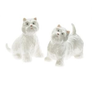 At home in the country - Westies Salt and Pepper Set by At home in the country