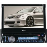 BOSS Audio BV9986BI In Dash, Single Din, DVD/CD/USB/SD/MP4/MP3 Compatible AM/FM Receiver, 7 inch Motorized / Flip Out Touchscreen Panel, Detachable Faceplate, Bluetooth Audio Streaming, Bluetooth Hand