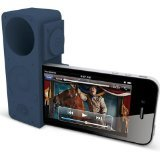 Ozaki iCoat IH928A iCarry time2boom Stand & Amplifier for iPhone 4/4S - Mount - Retail Packaging - Blue
