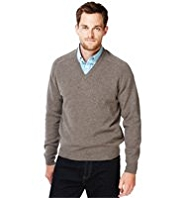Blue Harbour Extrafine Pure Lambswool V-Neck Jumper