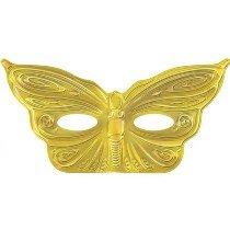 Gold Foil Butterfly Mask (1 pc)