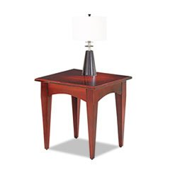 Image of Belmont Collection End Table, Square, 24w x 24d x 24h, Sunset Cherry (B007UGKQYW)