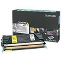 Lexmark Return Program High Capacity Yellow Toner Cartridge -Yellow -Laser -7000 Page -1 Each