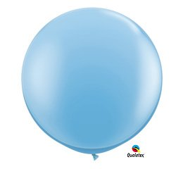 Pale Blue 3' Qualatex Decorative Celebration Party Balloon Three Foot Latex 36""
