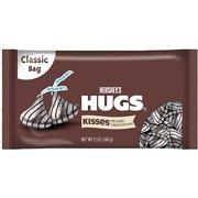 Hershey's Kisses Hugs Candies 12 oz