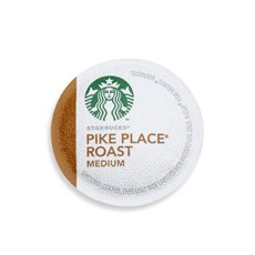 Starbucks K Cup Coffee - Pikes Place - 16 Pack