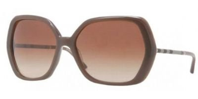 Burberry  Burberry 4122 323713 Brown 4122 Square Sunglasses Lens Category 2