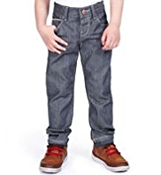 Autograph Pure Cotton Adjustable Waist Smart Jeans