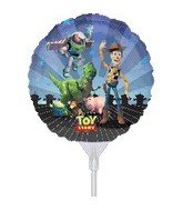 9 Inch Toy Story EZ Air Fill Balloons - 3 Count - 1