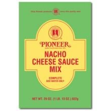 Pioneer Nacho Cheese Sauce Mix, 29 Ounce -- 6 per case. (Nacho Cheese Mix compare prices)