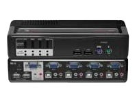 Avocent SwitchView MM2 - KVM / audio switch - 4 ports ( 4SVPUA20-001 )