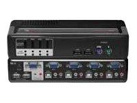 Avocent SwitchView MM2 - KVM / audio switch - 4 ports ( 4SVPUA20-001 )
