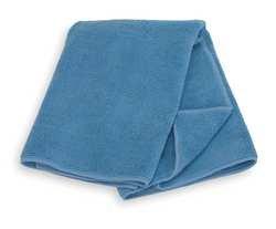 Tough Guy 3ZNF2 Microfiber Cloth, Blue, PK 12
