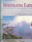 img - for Investigating Earth: A Geology Laboratory Text book / textbook / text book