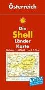 Shell Länderkarte Österreich 1 : 500 000: Mit