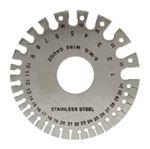 1 To 36 Standard Wire Gauge