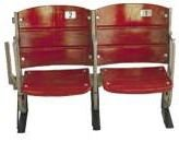Shea Stadium Memorabilia Stadium Seats Red - Set Of 2 from S&S Seating, Inc.
