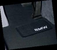 Bmw 325i 328i 330i 335i Factory Oem 82110439350 Sedan And Wagon Black Carpet Floor Mats 2006 - 2011 Complete Set Of Front And Rear by BMW Factory OEM