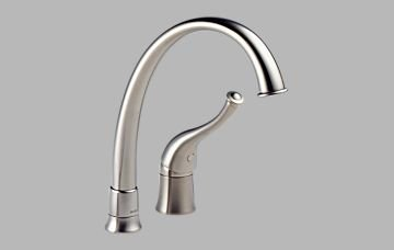 Brizo 61600-SS170 Providence Single Handle Kitchen Faucet – Stainless