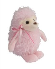 "Chantel Puff Pink Hedghog 6"" by Douglas Cuddle Toys - 1"
