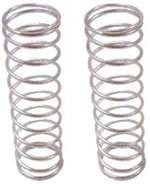 Team Associated 21197 18T Front Shock Spring, Silver, 2.55-Pound, Set of 2 - 1