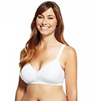 Post Surgery Smooth Orchid Embroidered A-DD Bra