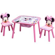 Disney Minnie Mouse Storage Table and Chairs Set from Disney