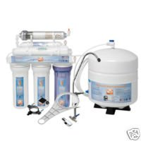 6 Stage Reverse Osmosis Water System with Alkaline Filter