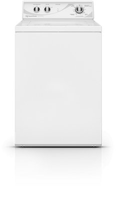 Speed Queen AWN432S Top Load Washer with 3.3 cu. ft. Stainless Steel Wash Tub, White (Top Loading Washing Machines compare prices)