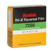 Kodak TXR-464 Tri-X Reversal Black & White, Silent Super 8 Movie Film, 50 Foot Cartridge, Film #7266, ISO 200 / 160, #502-9046, *USA*